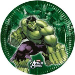 Avengers Multi Heroes, Bosszúállók Papírtányér 8 db-os 19,5 cm