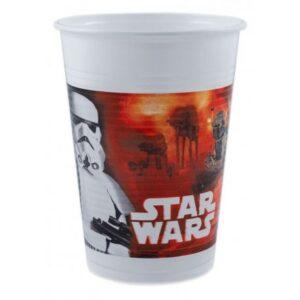 Star Wars Dark Side Műanyag pohár 8 db-os 200 ml