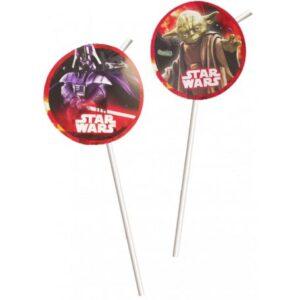 Star Wars Dark Side szívószál, 8 db-os szett