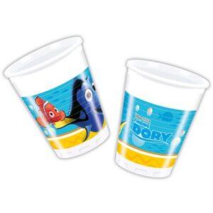 Disney Finding Dory Műanyag pohár 8 db-os 200 ml