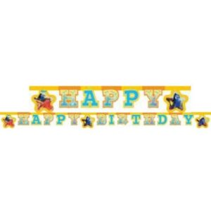 Disney Finding Dory Happy Birthday felirat 200 cm