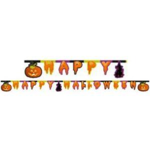 Happy Halloween felirat 220 cm