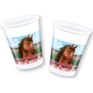 Lovas Műanyag pohár 8 db-os 200 ml