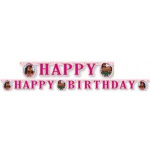 Lovas Happy Birthday felirat 200 cm