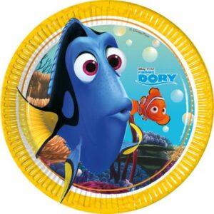 Disney Finding Dory Papírtányér 8 db-os 19,5 cm
