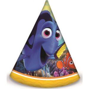 Disney Finding Dory Parti kalap, csákó 6 db-os