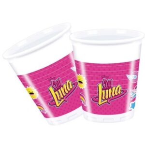 Disney Soy Luna Műanyag pohár 8 db-os 200 ml