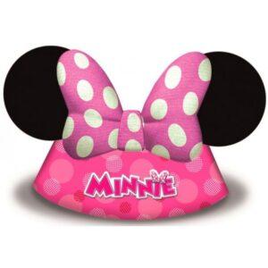 Disney Minnie Happy Helpers Parti kalap, csákó 6 db-os