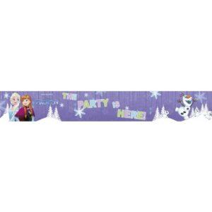 Disney Jégvarázs, Frozen Snowflakes Fali dekoráció 90*13 cm
