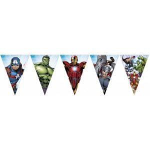 Mighty Avengers, Bosszúállók zászlófüzér 2,3 m