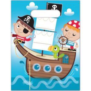 Pirates Treasure Hunt, Kalóz Ajándéktasak 6 db-os