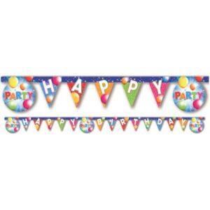 Fabulous Party, Happy Birthday Party felirat 200 cm