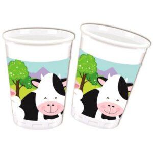 Farm Műanyag pohár 8 db-os 200 ml