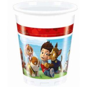 Mancs Őrjárat Műanyag pohár 8 db-os 200 ml