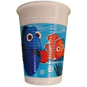 Disney Dory Adventures műanyag pohár 8 db-os 200 ml