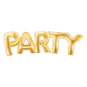 Gold, Arany Party fólia lufi 94 cm