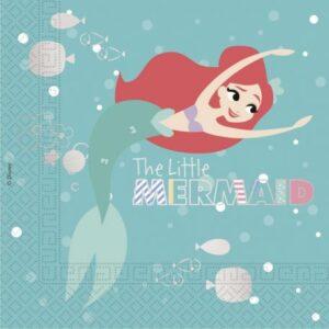 Ariel Under The Sea, szalvéta 20 db-os