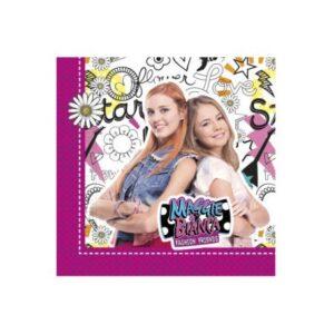Maggie And Bianca, Maggie és Bianca – Divatból jeles szalvéta 20 db-os