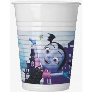 Disney Vampirina Műanyag pohár 8 db-os 200 ml