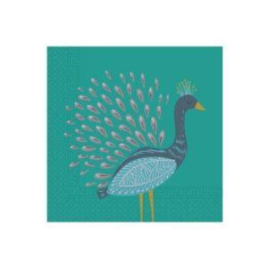Peacock, Páva szalvéta 20 db-os
