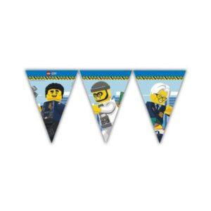 Lego City zászlófüzér FSC