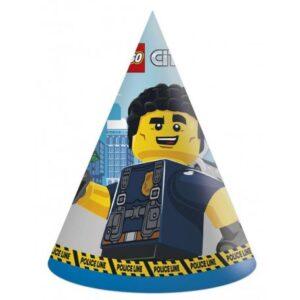 Lego City Parti kalap, csákó 6 db-os