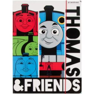 Thomas és barátai A/4 gumis mappa