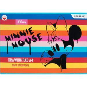 Disney Minnie A/4 vázlatfüzet, rajzfüzet 20 lapos