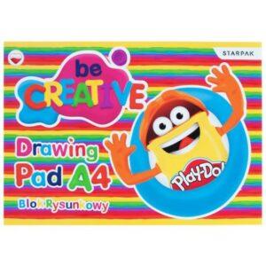 Play-Doh A/4 vázlatfüzet, rajzfüzet 20 lapos