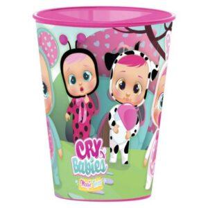 Cry Babies pohár, műanyag 260 ml