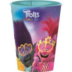 Trolls, Trollok pohár, műanyag 260 ml