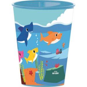 Baby Shark pohár, műanyag 260 ml