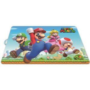 Super Mario Tányéralátét